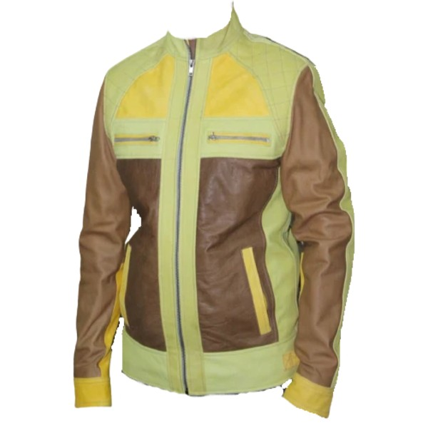 Brown and Yellow Jacket