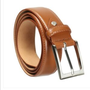 Casual Wear Men Tan Leather Belt